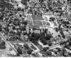 Aerial View of the Lycoming College Campus, c.1963