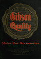 Motor car accessories : 1913 catalogue