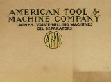 Catalog of lathes, valve-milling machines and oil separators