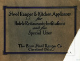 Steel ranges & kitchen appliances for hotels, restaurants, institutions and for special uses