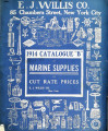 1914 Catalogue 'B' of marine supplies at cut rate prices