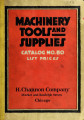 List price catalog no. 80 : machinery, tools, and general supplies for the manufacturing industries