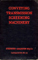 Conveying, transmission and screening machinery