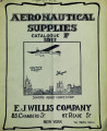 Aeronautical supplies : catalogue F, 1911