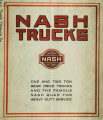 Nash trucks : one and two ton rear drive trucks and the famous Nash quad for heavy duty service