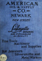 Catalog no. 1 of fine tools, machinery, supplies and specialties for jewelers, silversmiths,...