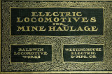 Electric locomotives for mine haulage