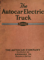 The Autocar electric