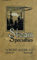 Steam specialties