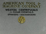 Weston sugar centrifugals : conveyors, elevators, mixers, sprayers, dischargers.