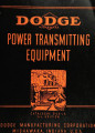 Dodge power transmitting equipment