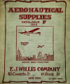 Aeronautical supplies : catalogue F, 1912
