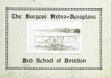 The Burgess hydro-aeroplane and School of Aviation