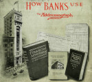 How banks use the Addressograph