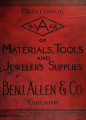 Illustrated price list of watch materials, tools and jewelers' supplies