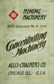 Concentrating machinery