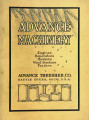 Year book of Advance threshing machinery number 23, 1909-10
