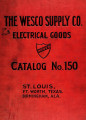 Catalog no. 150 of electrical supplies