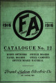 General catalogue no. 22