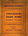 Hoisting engines, power hoists, electric hoists and contractor's equipage : catalogue no. 9