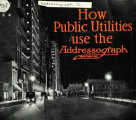 How public utilities use the Addressograph