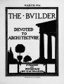 The Builder - March, 1914