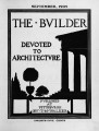 The Builder - September, 1909