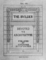 The Builder - April, 1905