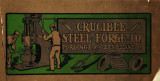 Illustrations and description of steel forgings made by the Crucible Steel Forge Co.