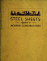 Steel sheets applied to modern construction