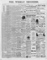 The Conshohocken Recorder, July 31, 1891