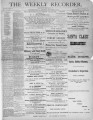 The Conshohocken Recorder, December 23, 1882