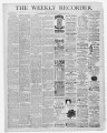 The Conshohocken Recorder, November 15, 1884