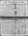 The Conshohocken Recorder, March 13, 1886