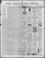 The Conshohocken Recorder, September 4, 1886