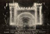 General View of Arches, Knights Templar Conclave, Williamsport, PA, May 1911