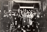 City (of Williamsport) residents turn out to celebrate Armistice ending World War I, November 11,...