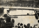 Bowman Field in 1936 flood