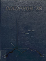 Colophon, Wyomissing High School, Wyomissing, PA (1979)