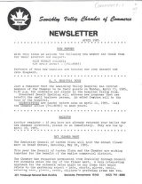 Newsletter April 1985