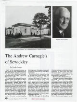 Andrew Carnegie's of Sewickley