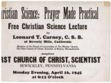 Christian Science: Prayer Made Practical