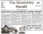 Sewickley Council Defeats Zoning Change
