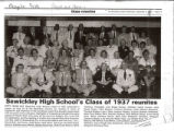 Sewickley High School's Class of 1937 Reunites