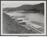 Barges at Grunderville Yard (circa 1905)