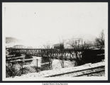 Warren-Sheffield Streetcar on Glade Bridge (circa 1905)