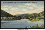 Big Bend on Allegheny River at Kinzua (circa 1940)