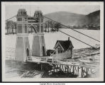 Rafts at Warren Eddy During Flood of 1873 (1873)