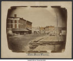 Intersection of Hickory Street and Pennsylvania Avenue (1868)