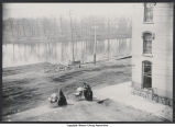 Rafts at Hickory Street and Pennsylvania Avenue (1887)